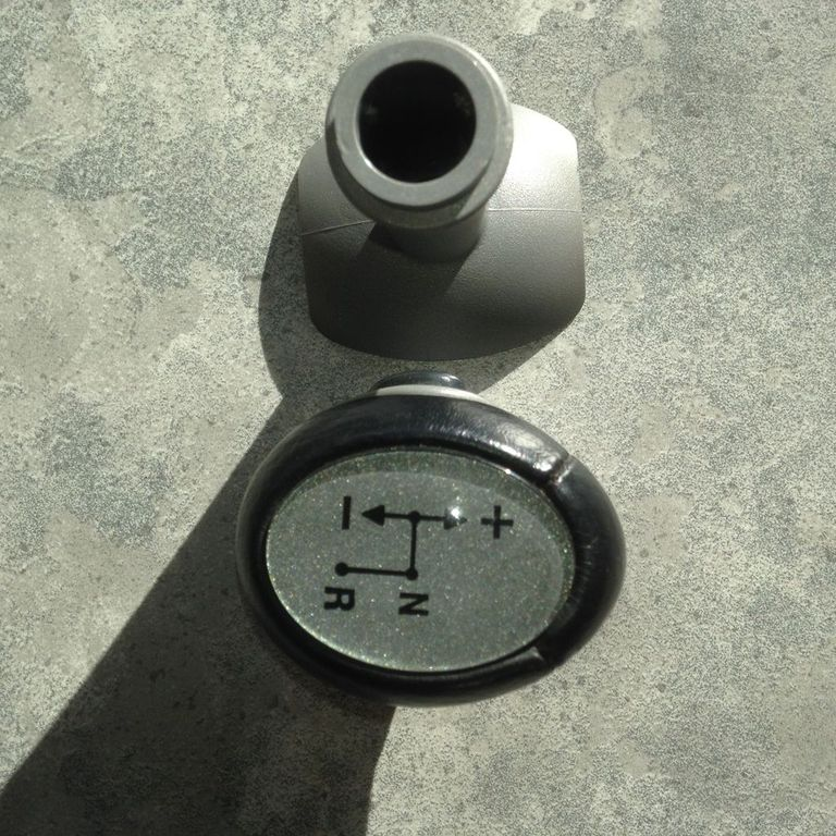 Smart 450 / 451 : Lederen schakelpook met Auto – knop