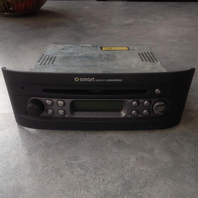 Smart Roadster : Radio / CD ;GEEN CODE